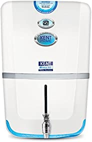 Kent Prime 9-Litres Wall Mountable RO+UV+UF+TDS Controller (White) 20-Ltr/hr  Water Purifier