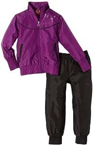 PUMA Survêtement pour fille Violet sparkling grape-black 116 cm