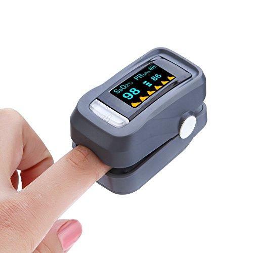 Finger Pulsoximeter Yiitay Fingertip Blutdruckmessger Heart Rate Oxygen Saturation Monitor
