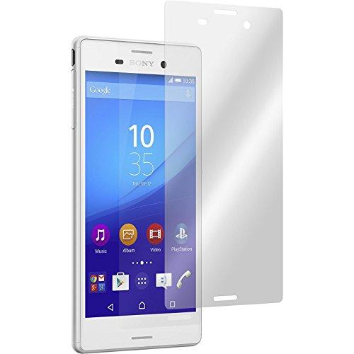 PhoneNatic 4er-Pack Bildschirmschutzfolien klar kompatibel mit Sony Xperia M4 Aqua