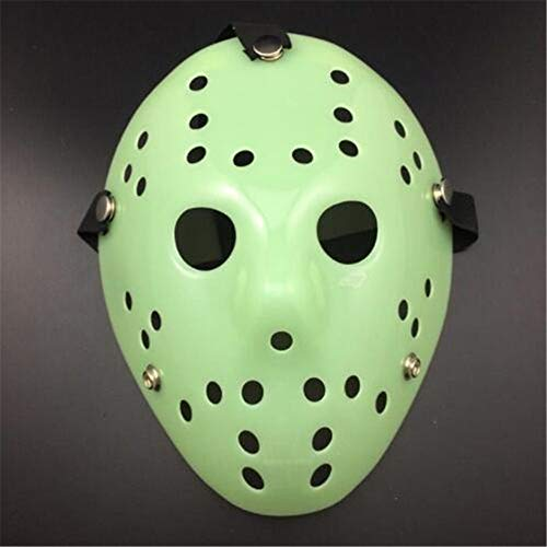 muck Dekorative Verzierung Romantische Dekoration  Party Masken Jason Voorhees Scary Prop Hockey Halloween Cosplay Gruselige Maske Freitag  Schön ()