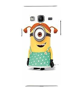 EPICCASE Minion girl Mobile Back Case Cover For Samsung Tizen Z3 (Designer Case)