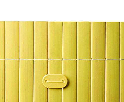 Befestigungsset für PVC Sichtschutzmatten bambus farbig, 26 Stück - Sichtschutzzäune Sichtschutzwand Gartensichtschutz Balkonsichtschutz Winschutz Sichtschutzwand für Garten und Terasse Blichschutz für Balkon Sichtschutzwände Sichtschutzwände, WPC Sichtschutz </p> --> großes Sortiment an Sichtschutz, Bambus, Schilf und Naturprodukte für Garten
