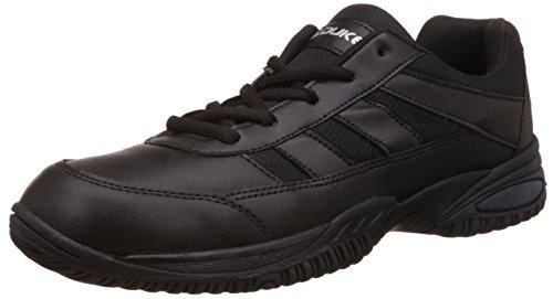 Duke Unisex Black School Shoes