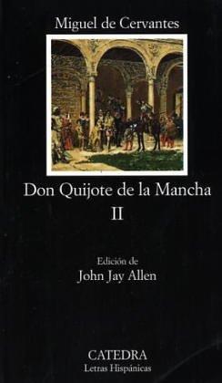 Don Quijote De La Mancha-Tomo Ii: Don Quijote De La Mancha 2 (Letras Hispanicas (catedra)) thumbnail