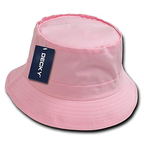 Decky secchio cappello da pescatore, Uomo, Fisherman's, Pink, (Piccolo Cappello Pin)