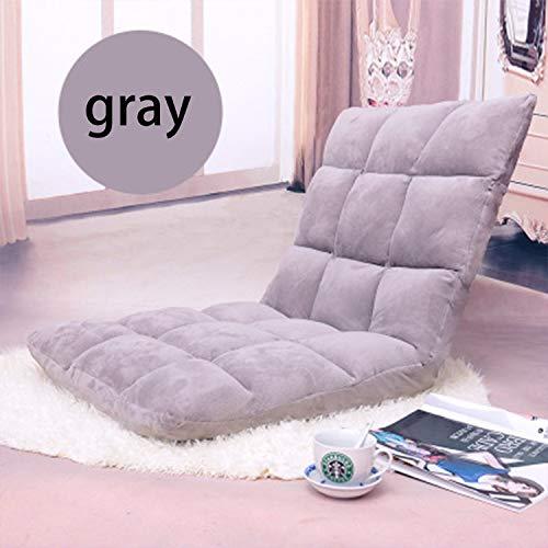 HEIFEN Tragbare verstellbare 6 Position Schaum Boden Stuhl Faltbare Rückenlehne Komfort Einzigen Stuhl Sofa Home Office Lesen TV Sitz