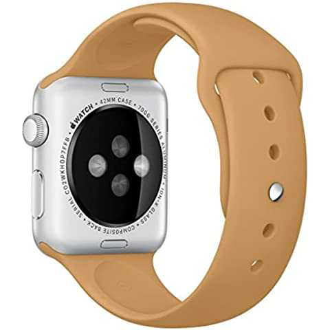 Per Apple Watch, morbido Silicone sostituzione Sport