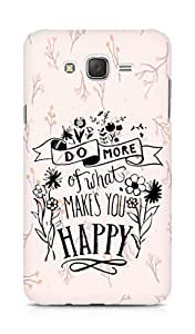AMEZ do more of what makes you happy Back Cover For Samsung Galaxy J7