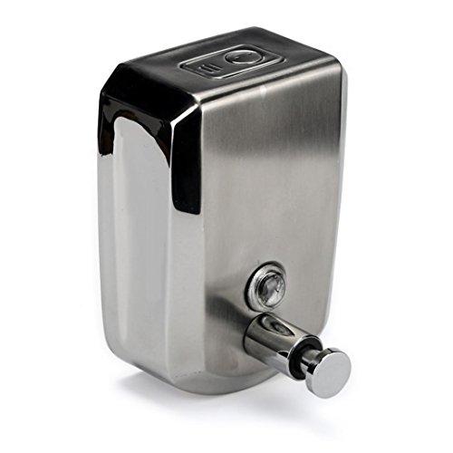 Shage 500/800/1000 ml Edelstahl Seifenspender Wandhalterung Shampoo Box (800ml)