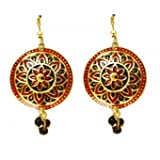 Traditional Thewa Earrings - Small
