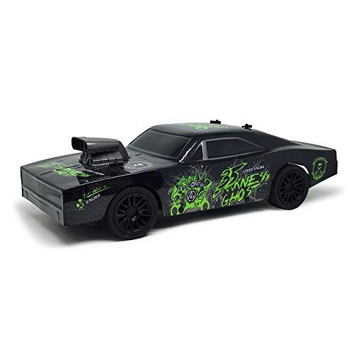 YOOCR Ferngesteuertes Auto, Hochgeschwindigkeitsrennwagen Kinder RC Auto Spielzeug für Jungen Mädchen 1/10 Modellauto RC Geländewagen ABS Kunststoff Elektronische Sport Racing Stunt Auto Geschenke