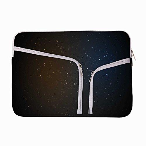 Begeistert Sterne 10, um 26,9cm Laptop Hülle Sleeve Case mit Reißverschluss und 2integrierten...
