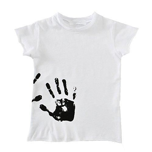 Baby Kinder T-shirt Sommerhaus Kausalen Freizeit T Kurzarm Bluse Palm Gedruckt Alter 0-6 Jahre Alt (Activewear-kurzarm-t-stücke)