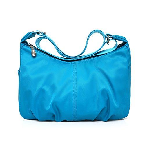 sacchetto di nylon impermeabile casuale messenger/borsa a tracolla/Oxford borsa da viaggio di stoffa-D C