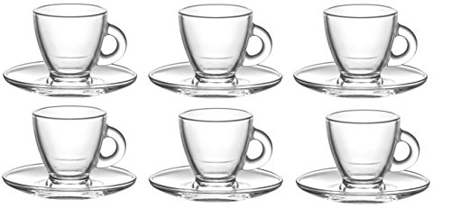 TASSES et SOUCOUPES A CAFE EXPRESSO - 12 pieces