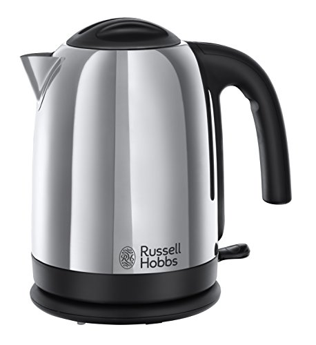 Russell Hobbs Cambridge Kettle 20071, 1.7 L, 3000 W - Polished Stainless Steel Silver Test