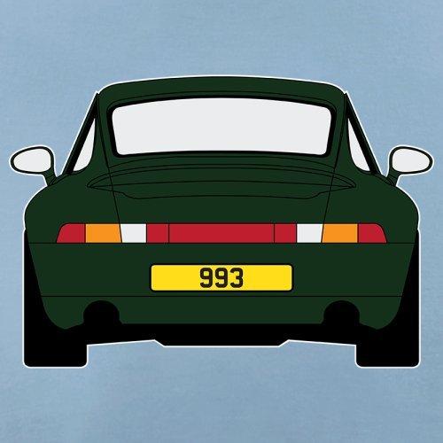 Porsche 993 Grün - Damen T-Shirt - 14 Farben Himmelblau