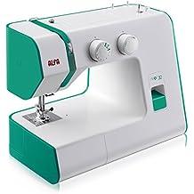 Alfa NEXT 30 Spring - Máquina de coser con 18 puntadas, color verde esmeralda