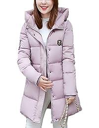 quality design 9d96d d0461 Piumini E Rosa Donna Giacche it Lunghi Amazon Cappotti 1zO54Bq5n