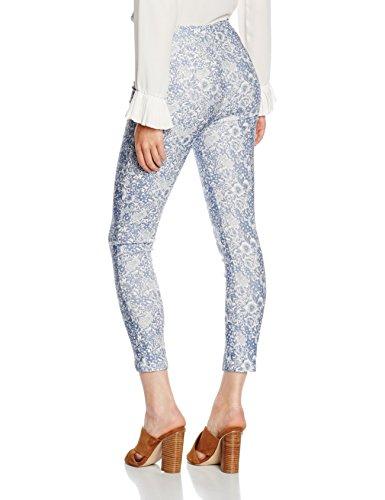 New Look Olivia Side Zip, Mutande Donna Blue (Blue Pattern)