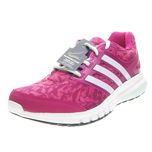 adidas Galaxy Elite 2 Womens Running Trainer Shoe Pink - UK 7