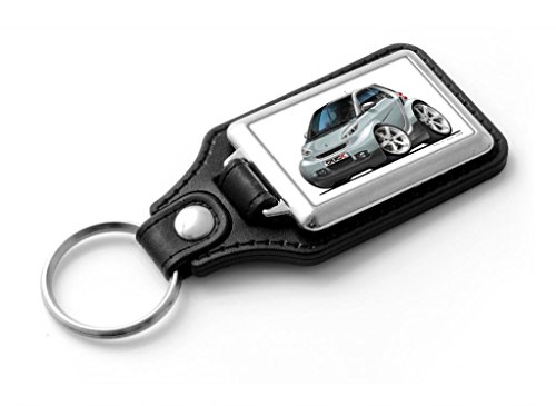 wickedartz-cartoon-car-smart-fortwo-silver-classic-style-key-ring