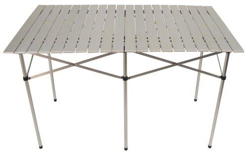 Max Fuchs Camping-Tisch, klappbar, Alu poliert, super leicht, groß