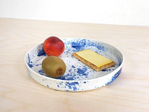 Fach-spritze (Splash Fach - ontwerp wit servierbrett tray keukengerei huis aardewerk spritzer spritzen tablett porselein diner keramiek porzellan)