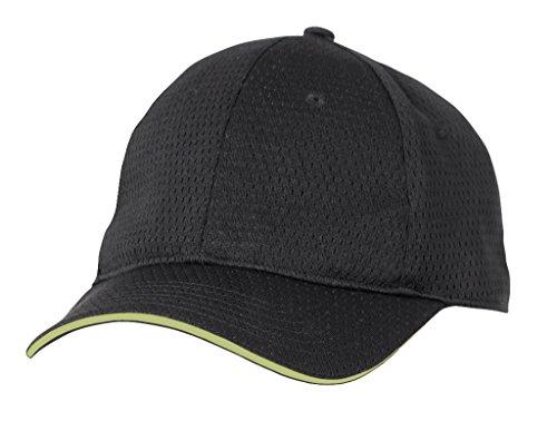 Farbe von Chef Works bcct-lim-0Coole Vent Baseball Cap, Lime Schnitt, eine Größe, schwarz -