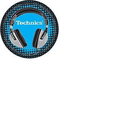 Dmc Technics Disques de feutrine Noir/bleu/blanc/gris (Import Royaume Uni)