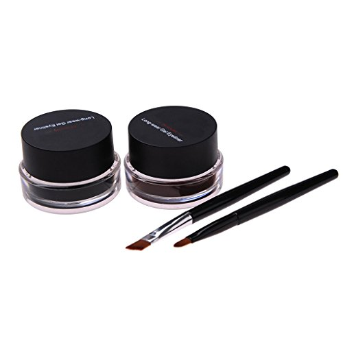 Maquillage Eyeliner durable intense noir et marron