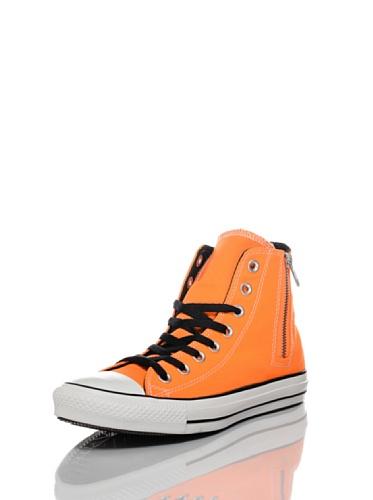 Converse Sneakers All Star Side Zip Arancione/Nero