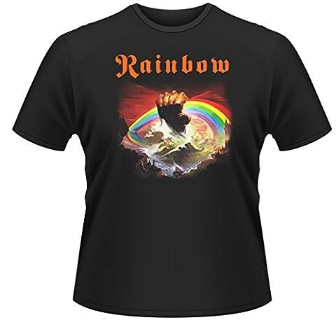 Rainbow Rising Ritchie Blackmore Rock offiziell Männer T-Shirt Herren (XX-Large)