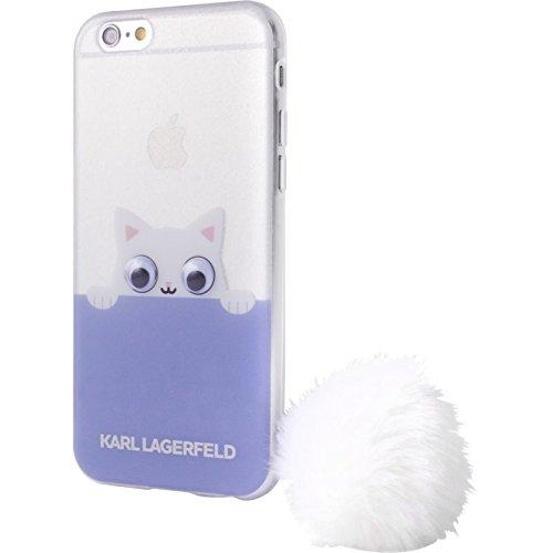 Karl Lagerfeld-K-Peek a Boo-Glitter Cover/Custodia in silicone-Apple iPhone 7