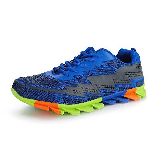 Hawkwell Homme Casual Respirant Chaussures de running à lacets pour de course léger merdoie