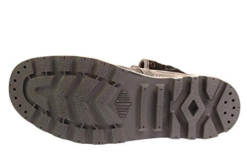 Palladium Us Baggy, Sneaker A Collo Alto Unisex - Adulto Metal (02478-029)