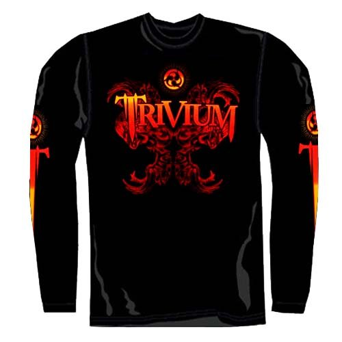 Trivium - Longsleeve Dragon (in M)