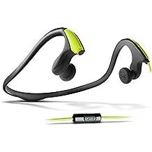Energy Sistem Running One - Auriculares de contorno de cuello (con micrófono) verde neón