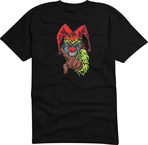 T-Shirt Herren Monster droht der Tod Digital