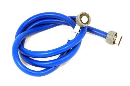 Tubería de agua fría para lavavajillas y lavadora (1,5 m), color azul