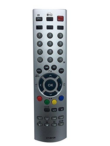 Vinabty Nuevo control remoto de reemplazo CT-90126 aptos para Toshiba PLASMA TV DVD VCR Player