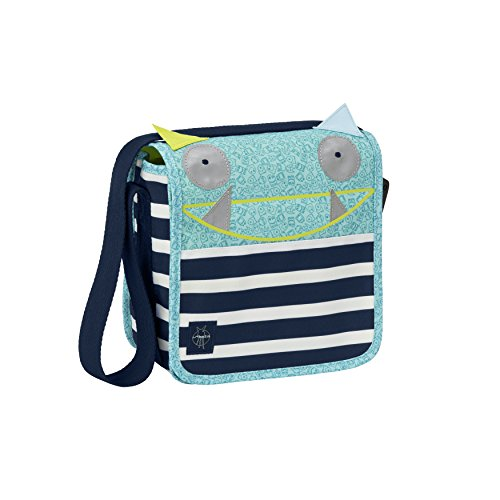 LÄSSIG Kindertasche Kindergartentasche Umhängetasche Junge Mädchen Kindergarten / Mini Messenger Bag Little Monsters, Bouncing Bob (Kleine Armour Sporttasche Under)
