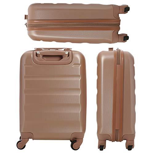 Zoom IMG-3 trolley aerolite abs bagaglio a