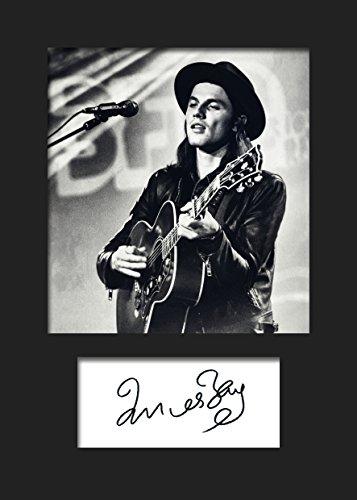 James Bay # 2-Foto incorniciata formato A5
