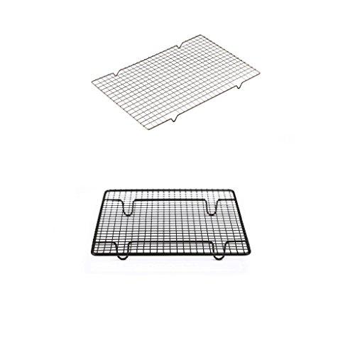 OYY Backenwerkzeuge Kuchen Kühlung Rechteck Nonstick Brot Keks Backen Grid Backen Haushalt Antihaft Trocknen (22,9 CM, 40 CM) ( größe : 22.9cm )