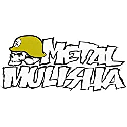"Metal Mulisha Men's Metal Mulisha Unisex Iconoclast 8"" Sticker White"