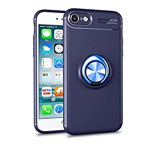 Forhouse Slim Fit Bumper iPhone 6 iPhone 6s 4.7 inch Hülle Shock Absorption Accessory Defender Drop Protection Cover Bumper Hülle für iPhone 6 iPhone 6s 4.7 inch - Blue