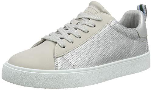 ESPRIT Damen Cherry Glimmer Sneaker, Grau (Ice 055), 38 EU