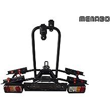 Menabo Naos Tilting Portabicicletas AHK para 2Â ruedas plegable
